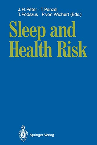 9783540530831: Sleep and Health Risk