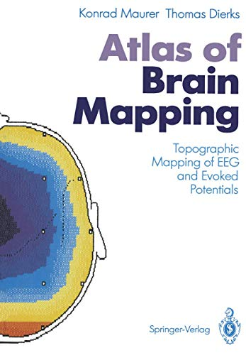 9783540530909: Atlas of Brain Mapping: Topographic Mapping of EEG and Evoked Potentials
