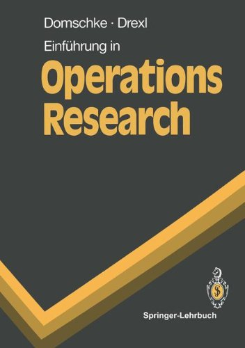 9783540531050: Einf Hrung in Operations Research (Springer-Lehrbuch)