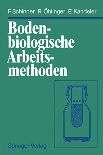 9783540531432: Bodenbiologische Arbeitsmethoden (German Edition)