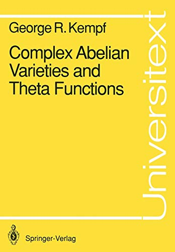 9783540531685: Complex Abelian Varieties and Theta Functions (Universitext)