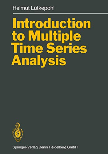 9783540531944: Introduction to Multiple Time Series Analysis