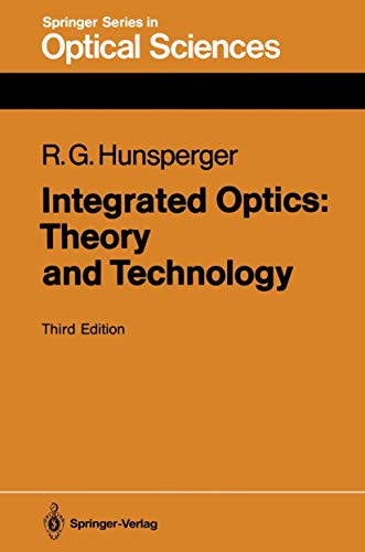 9783540533054: Integrated Optics: Theory and Technology (Series in Optical Sciences)