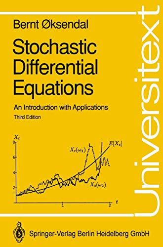 9783540533351: Stochastic Differential Equations: An Introduction with Applications