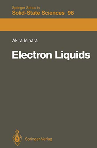 9783540535980: Electron Liquids (Springer Series in Solid-State Sciences)