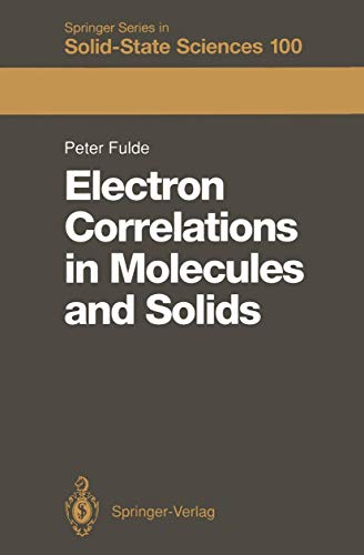 9783540536239: Electron Correlations in Molecules and Solids (Springer Series in Solid-State Sciences)
