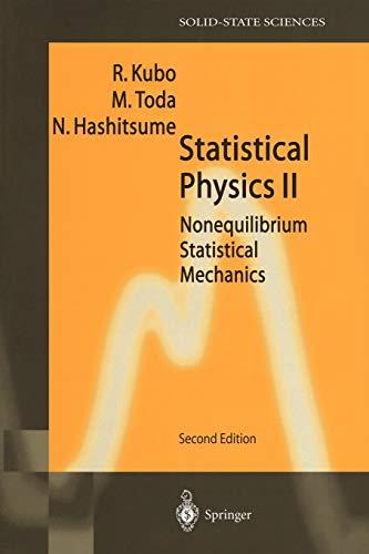 Statistical Physics II: Ryogo Kubo (author),