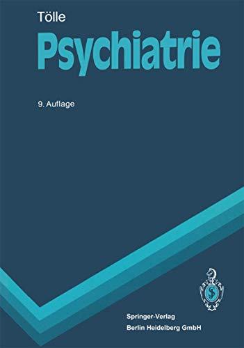 9783540540069: Psychiatrie: Kinder- Und Jugendpsychiatrische Bearbeitung Von Reinhart Lempp (Springer-Lehrbuch)