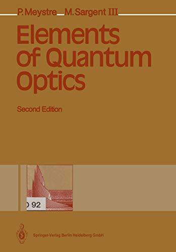 9783540541905: Elements of Quantum Optics