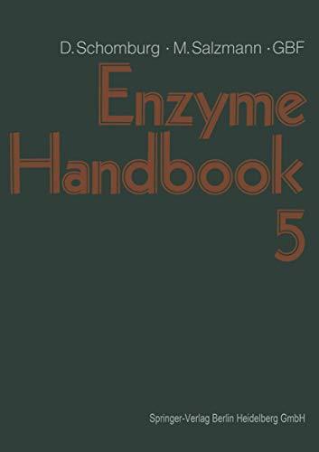 9783540542094: Enzyme Handbook: Class 3 - Hydrolases v. 5
