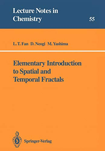 9783540542124: Elementary Introduction to Spatial and Temporal Fractals (Lecture Notes in Chemistry)