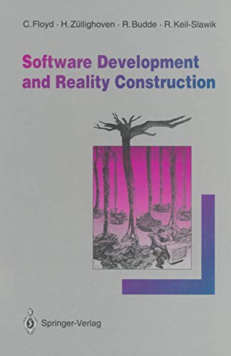 9783540543497: Software Development and Reality Construction