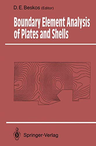 9783540544647: Boundary Element Analysis of Plates and Shells (Springer Series in Computational Mechanics)