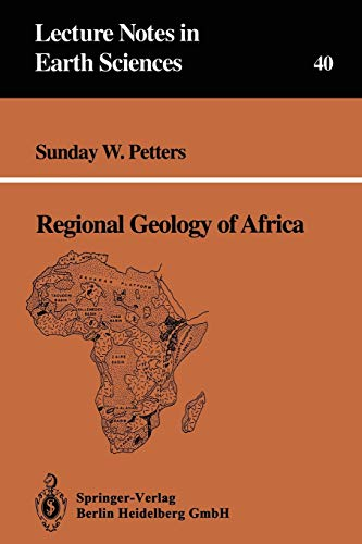9783540545286: Regional Geology of Africa (Lecture Notes in Earth Sciences)
