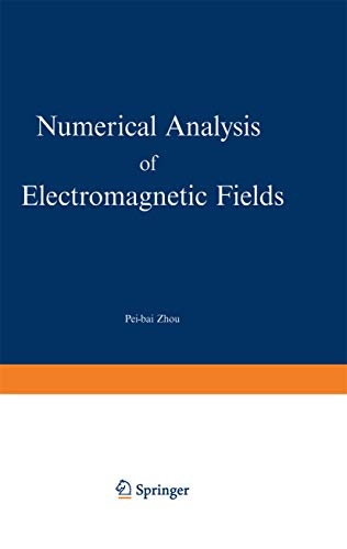 9783540547228: Numerical Analysis of Electromagnetic Fields (Electric Energy Systems and Engineering)