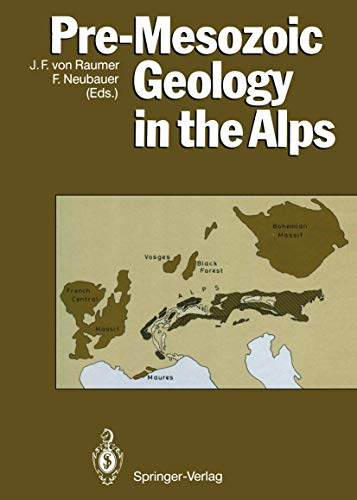 9783540547570: Pre-Mesozoic Geology in the Alps
