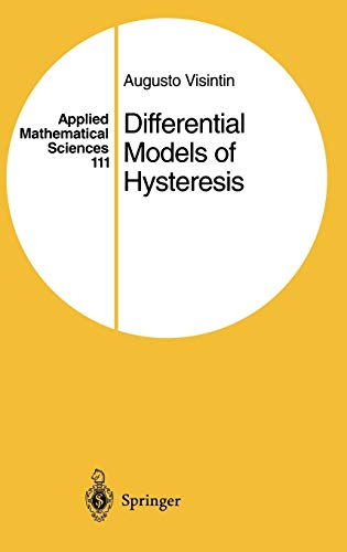 9783540547938: Differential Models of Hysteresis (Applied Mathematical Sciences)