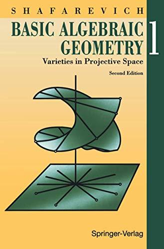 9783540548126: Basic Algebraic Geometry 1: Varieties in Projective Space