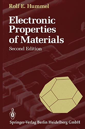 9783540548393: Electronic Properties of Materials: An Introduction for Engineers