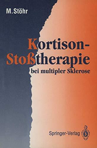 9783540548737: Kortison-Sto�therapie bei multipler Sklerose