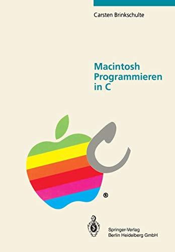 9783540549109: Macintosh Programmieren in C