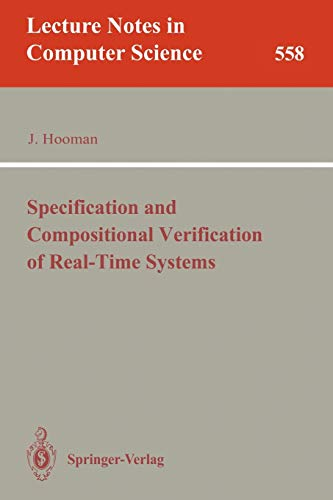 9783540549475: Specification and Compositional Verification of Real-Time Systems (Lecture Notes in Computer Science)