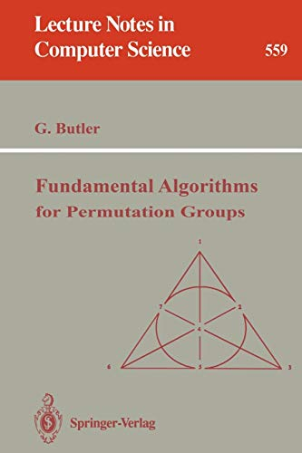 9783540549550: Fundamental Algorithms for Permutation Groups (Lecture Notes in Computer Science)