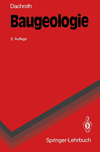 9783540551652: Baugeologie (Springer-Lehrbuch)