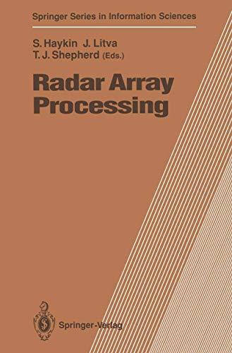 9783540552246: Radar Array Processing (Springer Series in Information Sciences)