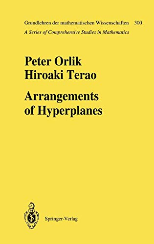 9783540552598: Arrangements of Hyperplanes (Grundlehren der mathematischen Wissenschaften)