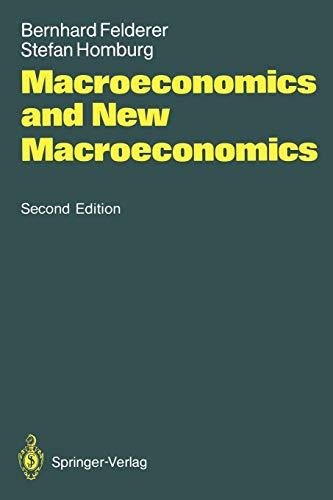 9783540553182: Macroeconomics and New Macroeconomics