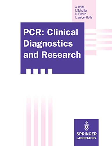 9783540554400: PCR: Clinical Diagnostics and Research