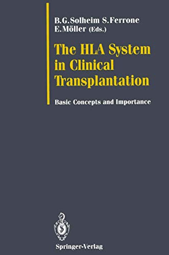9783540554561: The HLA System in Clinical Transplantation: Basic Concepts and Importance