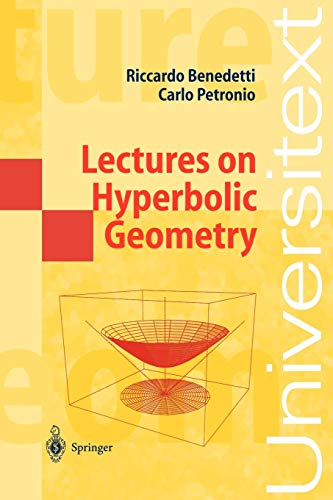 9783540555346: Lectures on Hyperbolic Geometry (Universitext)