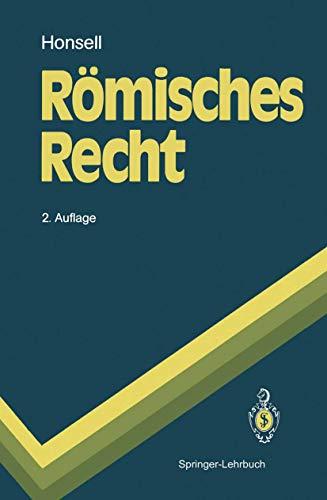 9783540555926: R Misches Recht (Springer-Lehrbuch) (German Edition)
