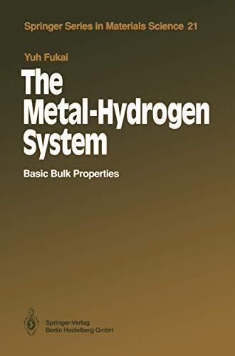 The Metal-Hydrogen System: Basic Bulk Properties: Yuh Fukai