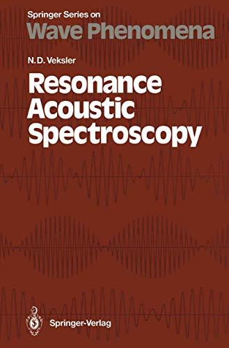 9783540556381: Resonance Acoustic Spectroscopy (Springer Series on Wave Phenomena)