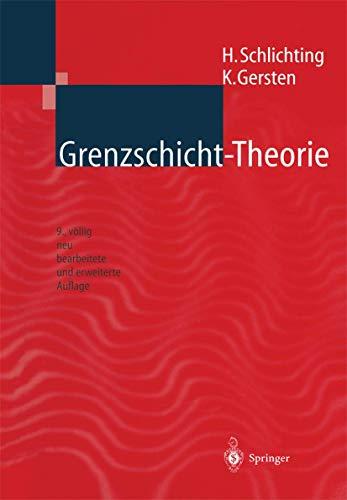 9783540557449: Grenzschicht-Theorie