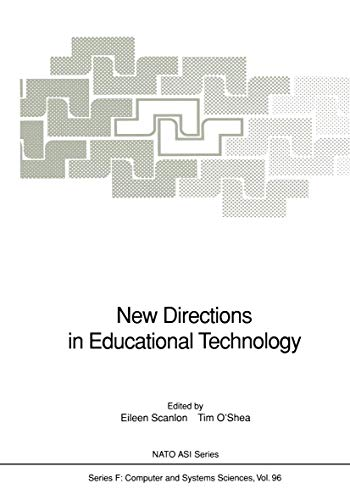 9783540558835: New Directions in Educational Technology (Nato ASI Subseries F:)