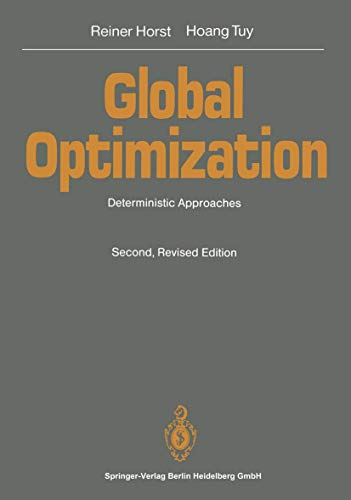 9783540560944: Global Optimization: Deterministic Approaches