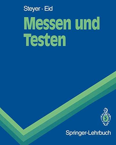 9783540561699: Messen Und Testen (Springer-Lehrbuch)