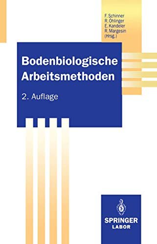 9783540562061: Bodenbiologische Arbeitsmethoden (Springer Labormanuale) (German Edition)