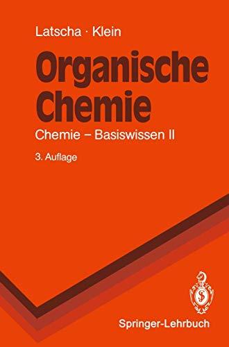 Chemie - Basiswissen. Bd.1: Anorganische Chemie. Bd.2: Latscha, Hans Peter,