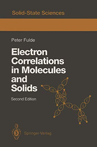 9783540563761: Electron Correlations in Molecules and Solids (Springer Series in Solid-State Sciences)