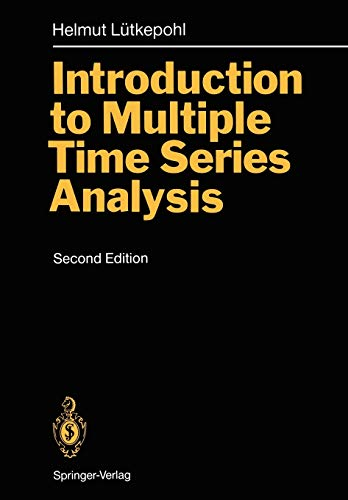 9783540569404: Introduction to Multiple Time Series Analysis