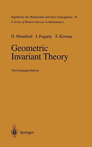 9783540569633: Geometric Invariant Theory (Ergebnisse der Mathematik und ihrer Grenzgebiete. 2. Folge)