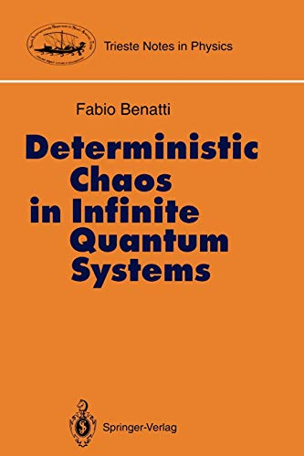 9783540570172: Deterministic Chaos in Infinite Quantum Systems