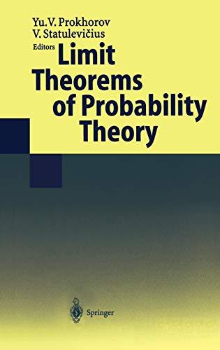 Limit Theorems of Probability Theory.: Prokhorov, Yu. V.; V. Statulevicius (Eds.):