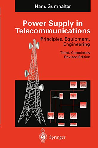 9783540570684: Power Supply in Telecommunications