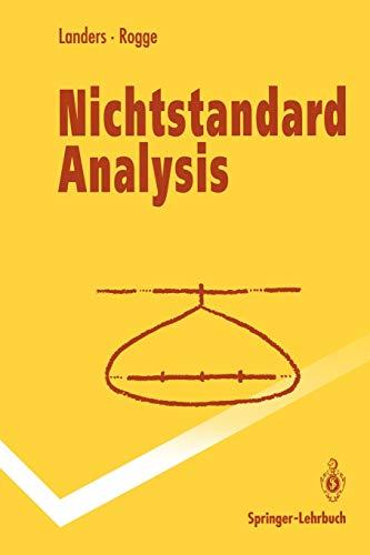 9783540571155: Nichtstandard Analysis (Springer-Lehrbuch) (German Edition)